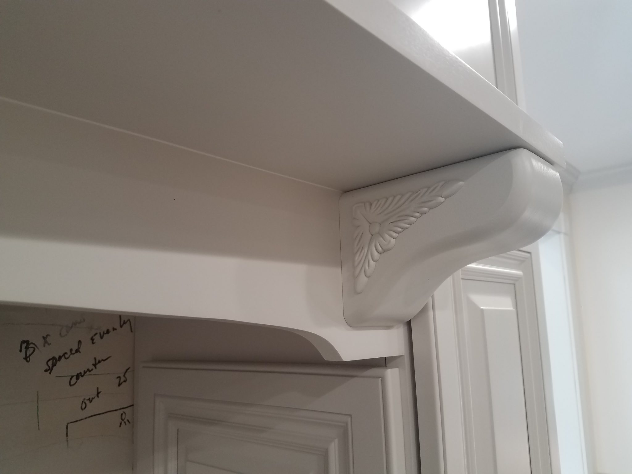 Custom Stove Mantels with Recessed Vents