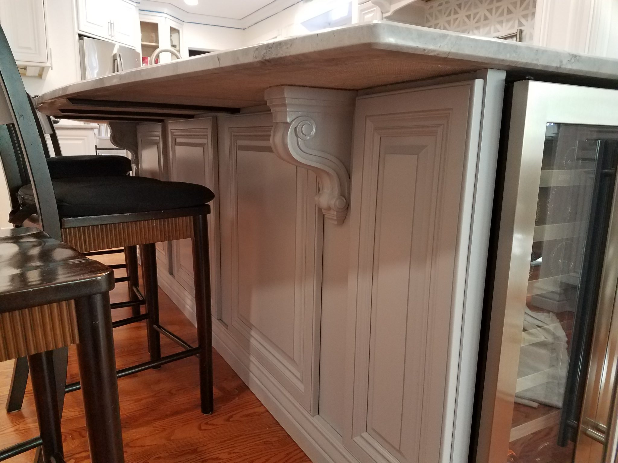 Custom 65k Kitchen Remodel White Raise Panel | Concord ...