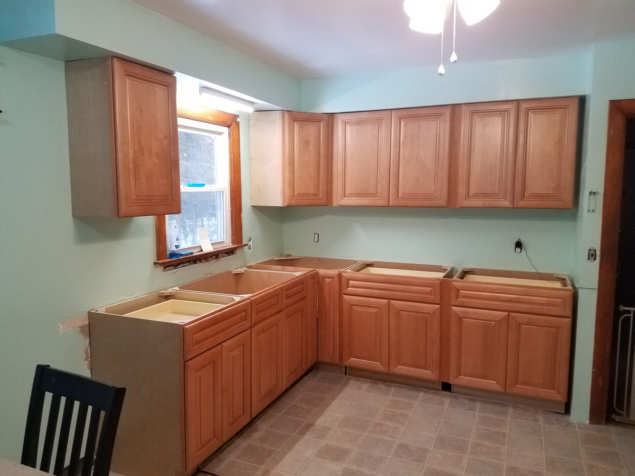 Russian Maple Raise Panel Kitchen