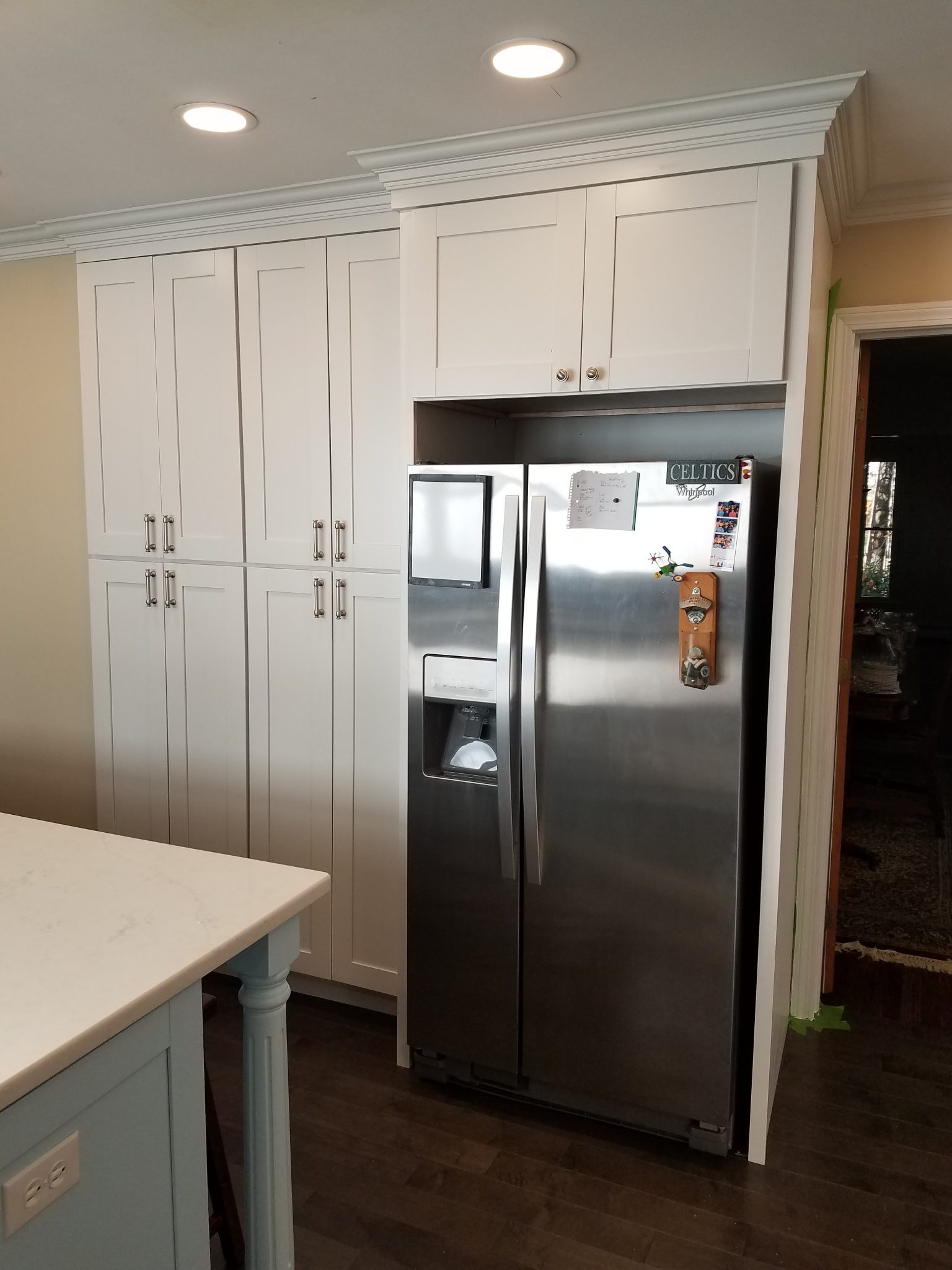 Shaker White Complete Kitchen Remodel