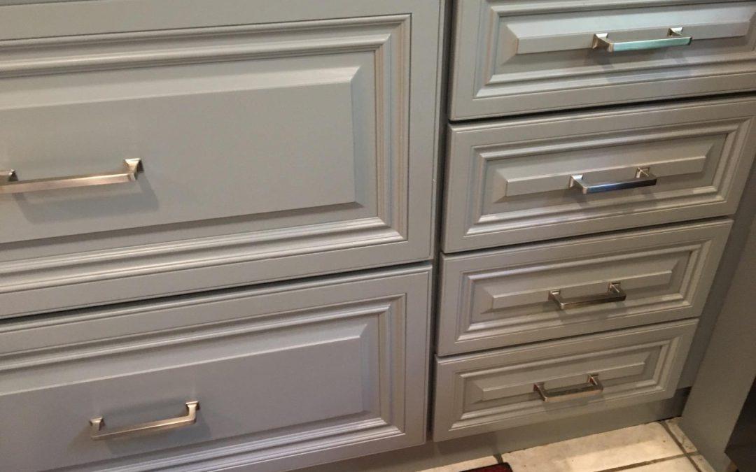 Raised Panel Custom Painted Gentry Gray